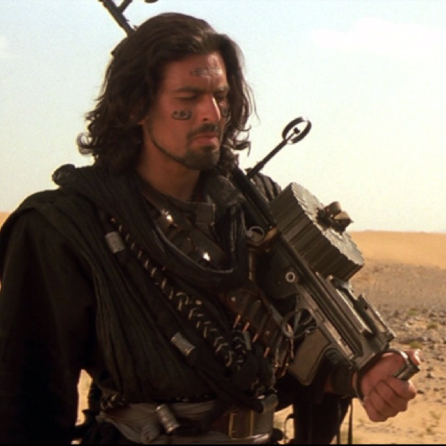Ardeth Bay (Oded Fehr)- The Mummy Trilogy  (Gorgeous, handsome, sexy man!)