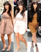 Not so much Kim. Pregnant women are beautiful but she just looks uncomfortable. RELAX girl!