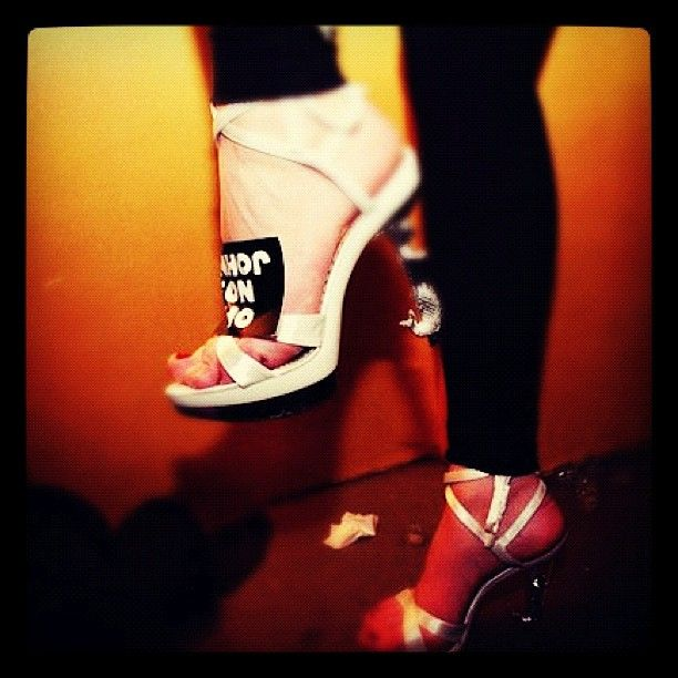 John loves Heels! #heels #fashion #beauty #party #girls