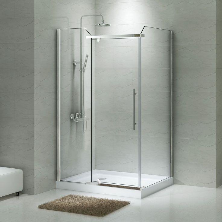 1000 Ideas About Corner Shower Enclosures On Pinterest