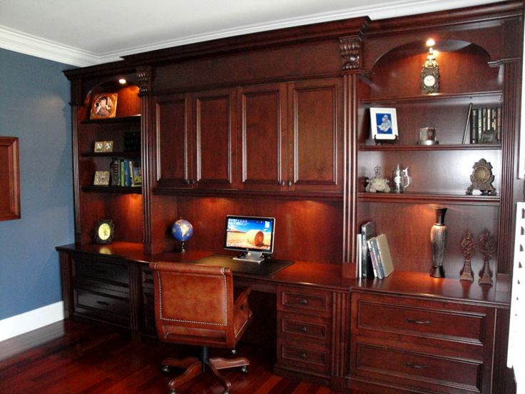 office cabinet built in