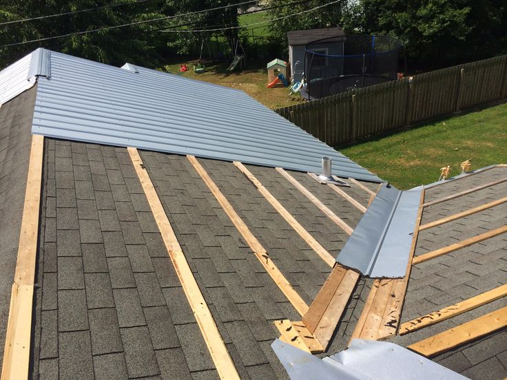 Roof Valley Metal & Flashing For Exposed Fastener Metal ...
