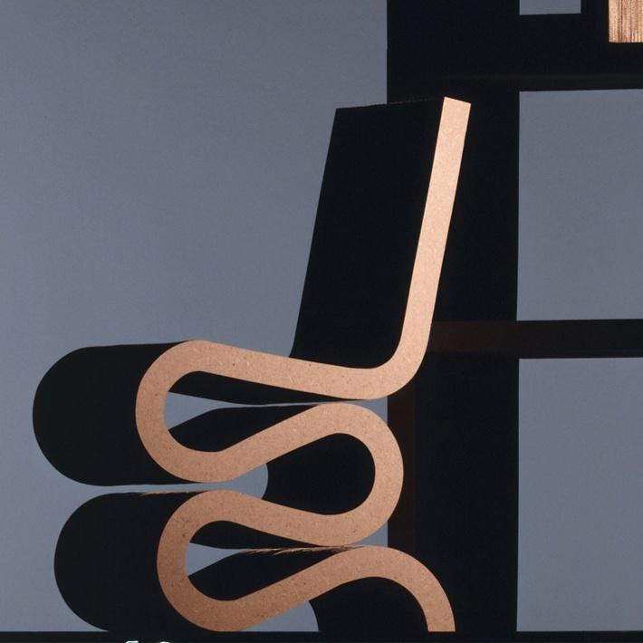 Você usaria uma cadeira feita de papelão reciclado?