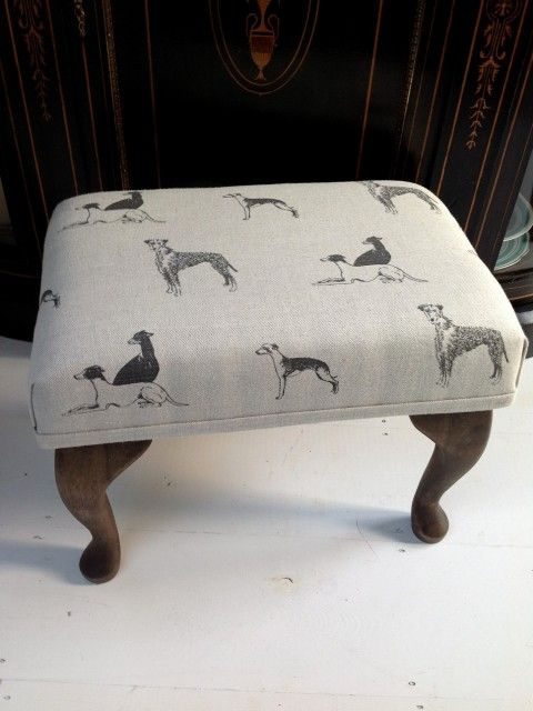 £55 - Emily Bond Long Dog Foot Stool - No44 Homeworks