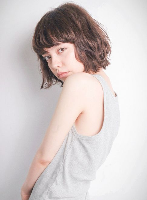 重軽ボブ 【OOO YY】 http://beautynavi.woman.excite.co.jp/salon/25807?pint ≪ #bobhair #bobstyle #bobhairstyle #hairstyle・ボブ・ヘアスタイル・髪型・髪形 ≫