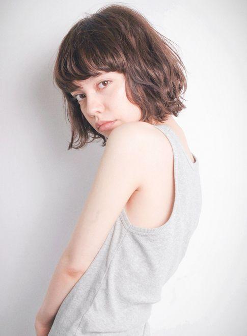 重軽ボブ 【OOO YY】 http://beautynavi.woman.excite.co.jp/salon/25807?pint ≪ #bobhair #bobstyle #bobhairstyle #hairstyle・ボブ・ヘアスタイル・髪型・髪形 ≫
