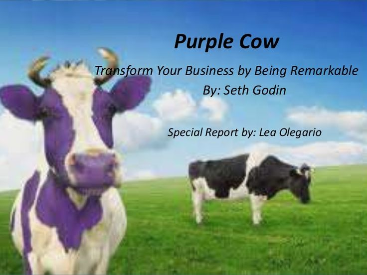 purple cow dairy marketing assignment Marketing i assignment: purple cow dairy by: brandon lyddon purple cow dairy needs to increase its market share within the dairy product market itself.