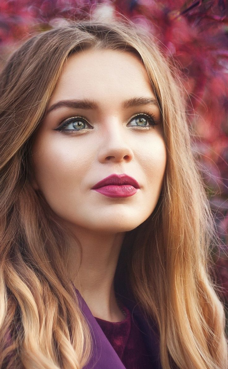 Pretty eyes, blonde, woman model, 950x1534 wallpaper
