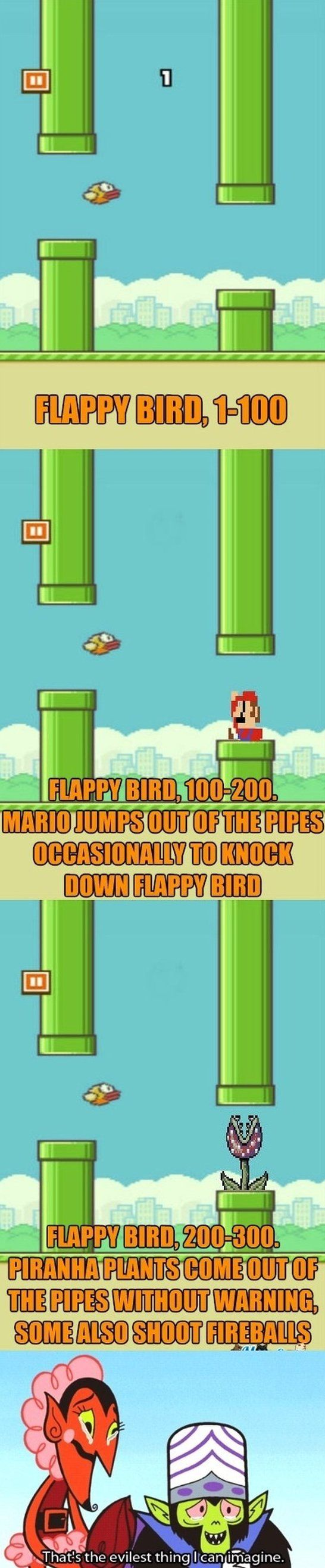 Flappy Bird...because I will never get past 3, but now I know...