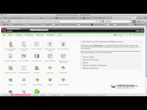 Redirecciones en Joomla usando RedJ - YouTube