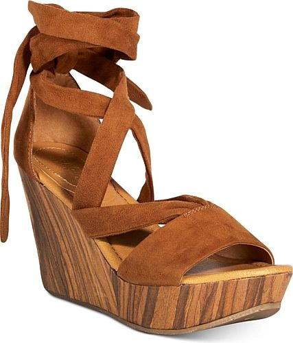 Kenneth Cole Reaction Women's Shoes in Blue Denim Color. Kenneth Cole Reaction Women's Sole Rise Lace-Up Platform Wedge Sandals Women's Shoes