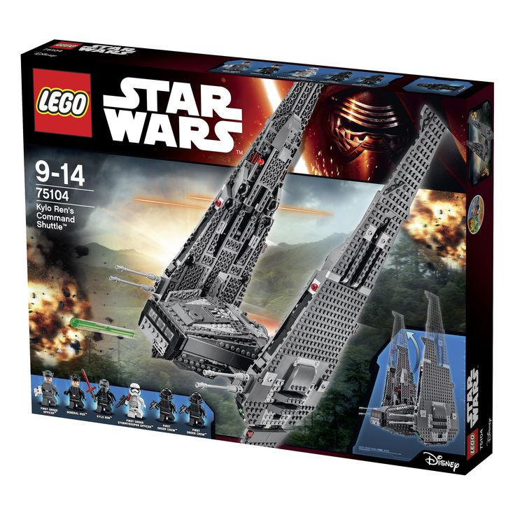 LEGO Star Wars 75104 Kylo-Ren's-Command-Shuttle
