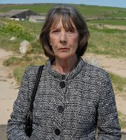"""Doc Martin. Aunt Ruth Ellingham (Eileen Atkins). Image credit: Buffalo Pictures.  Love how she says the line line: """"Okay...not ideal...but we can work with it."""""""