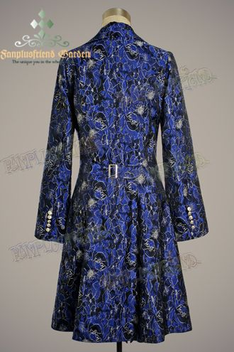 Image result for blue bronze brocade jacket