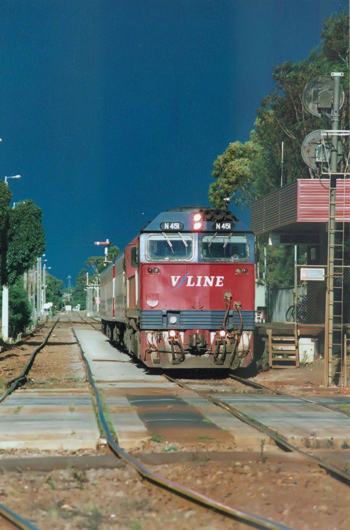 N451 at South Geelong station