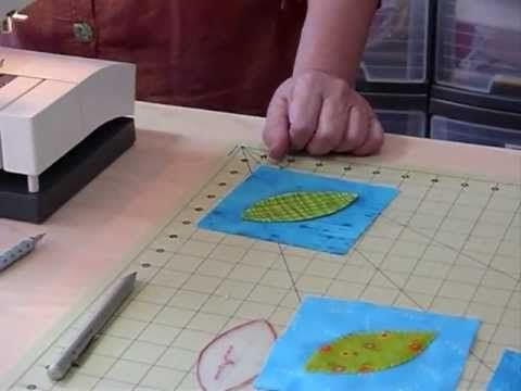 How to do Almost Invisible Applique by Machine - Quilting Tips & Techniques 058