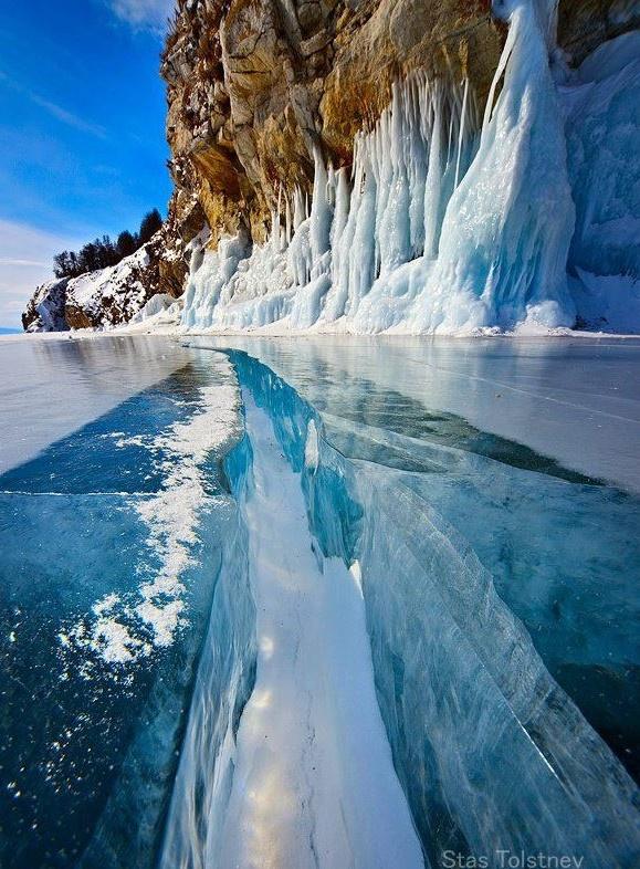 Stas Tolstnev  Lake Baikal, Russia