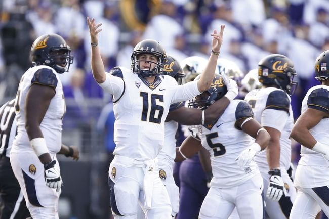 California Golden Bears vs. Washington State Cougars - 10/3/15 College Football Pick, Odds, and Prediction