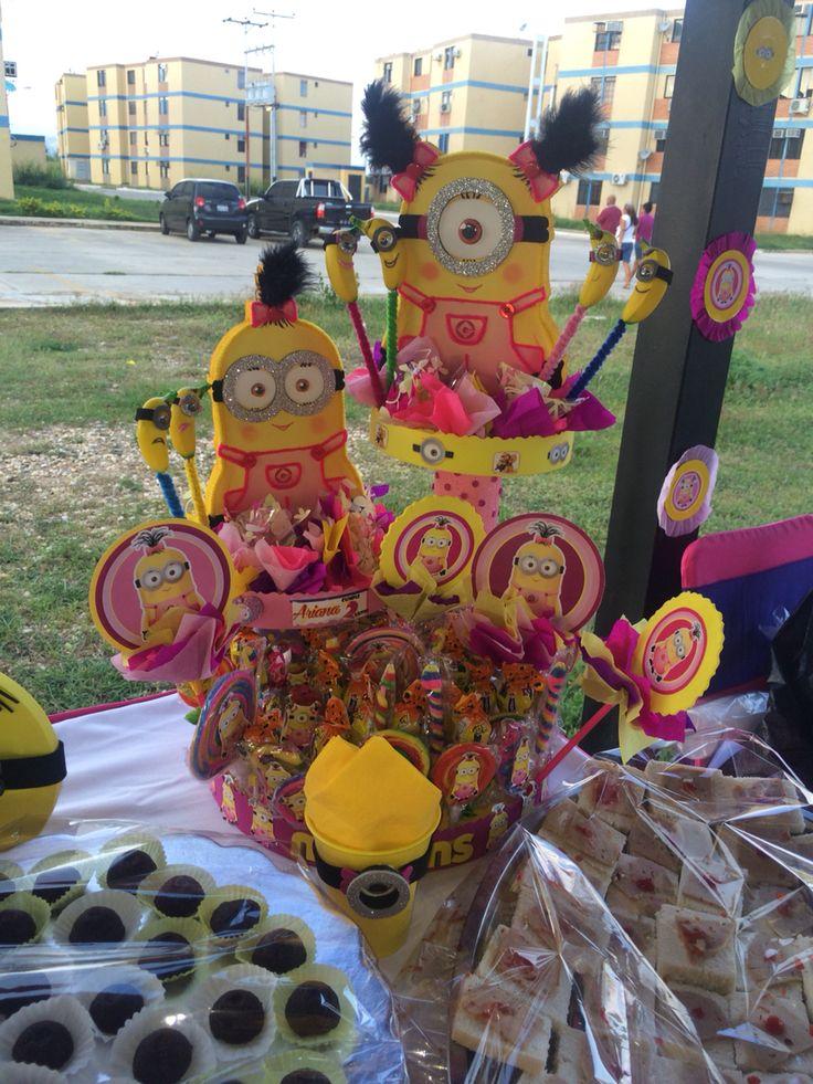 Ms de 25 ideas increbles sobre Nia minion en Pinterest  Fiesta