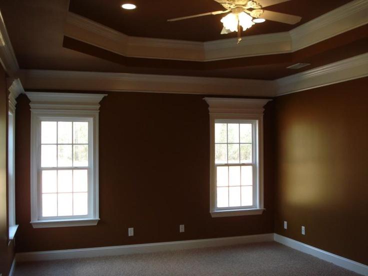 trey ceiling w/crown molding