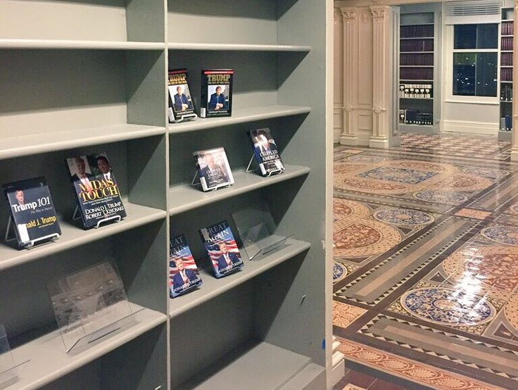 Old State Department Library now consists of nothing but Donald Trump books - Palmer Report