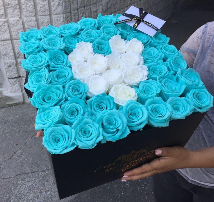 Heart Shaped Eternity Roses!