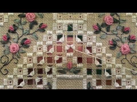 fiori su rete sfilata - YouTube