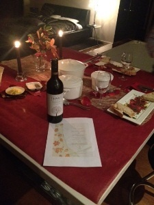 Cosy dinner for 2 organised by Special Touch. Great idea! www.specialtouch.com.au