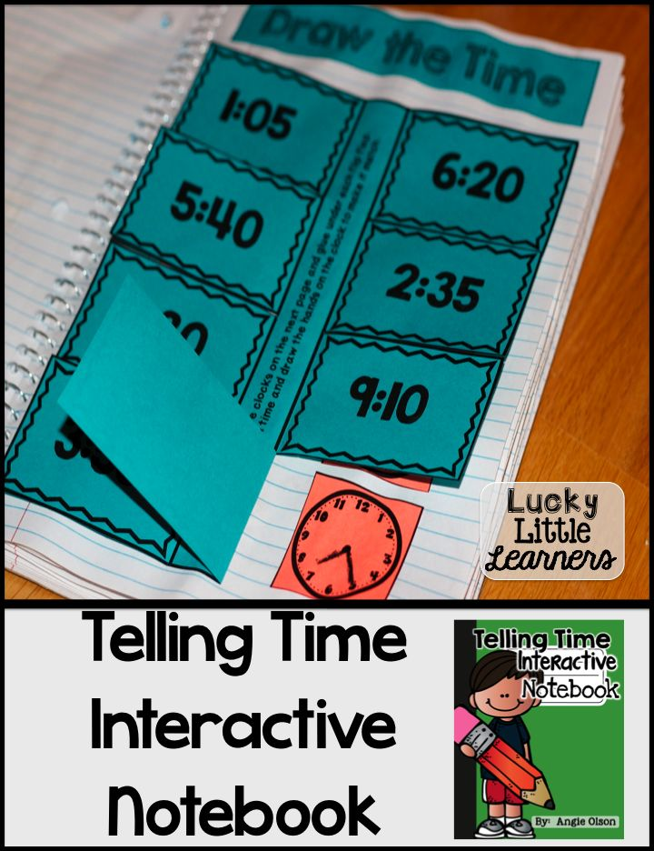 I've got a surprise...  I UPDATED my Telling Time  Interactive Notebook!  You can now get 12 different activities which include some of the following skills:  time to the hour, half hour, quarter hour, and 5 minute intervals.  These also include story problems, elapsed time, analog clocks, digital clocks, and MORE!