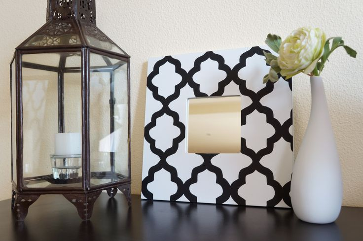 Atelier Fleur de Mai miroirs orientaux graphiques Ikea Hack