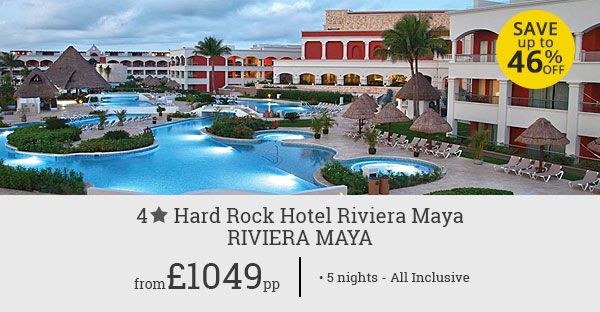 Make your holiday in Riviera Maya more fun! Enjoy wonderful amenities and lively atmosphere at Hard Rock Hotel Riviera Maya. Save up to 46%.