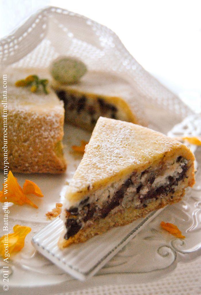 Sicilian chocolate orange cake (la cassata al forno)