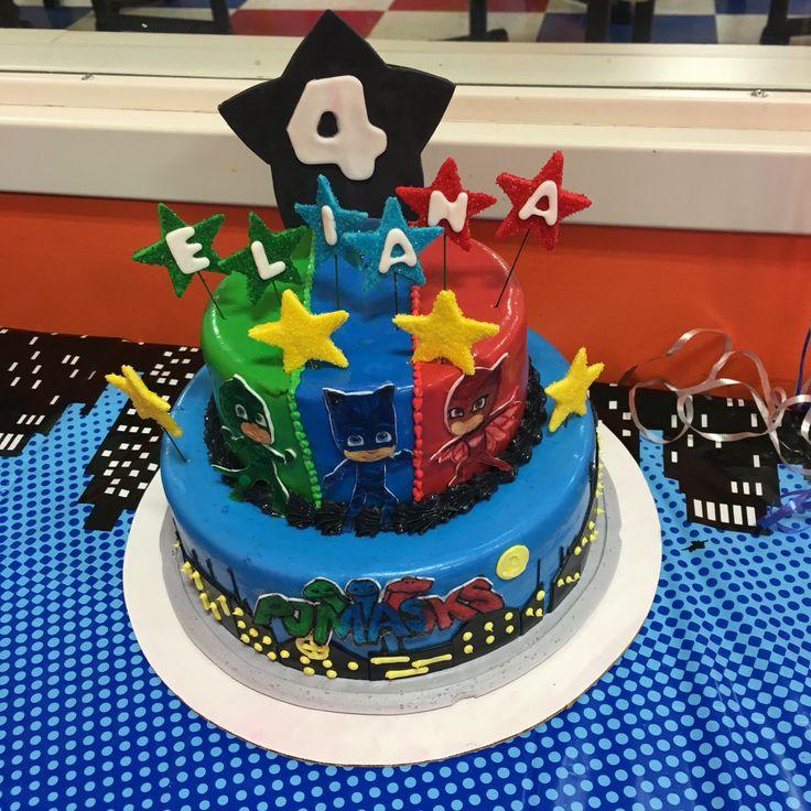 PJ Masks cake design.