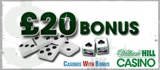 William Hill has declared a £20 #bonus amount. Players can avail the cash on #betting with larger amounts or on new #games for sample.