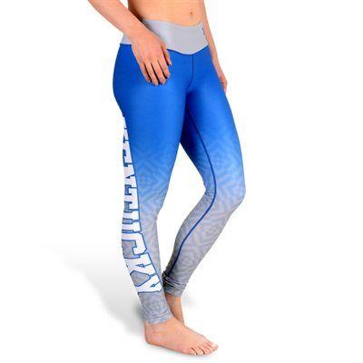 Kentucky Wildcats Women's Royal Blue Gradient Print Leggings