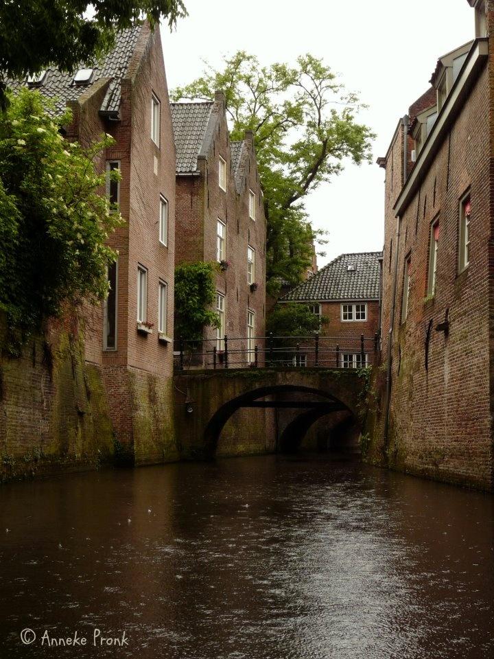 Een regenachtige dag in s-Hertogenbosch. A rainy day in 's-Hertogenbosch my hometown.