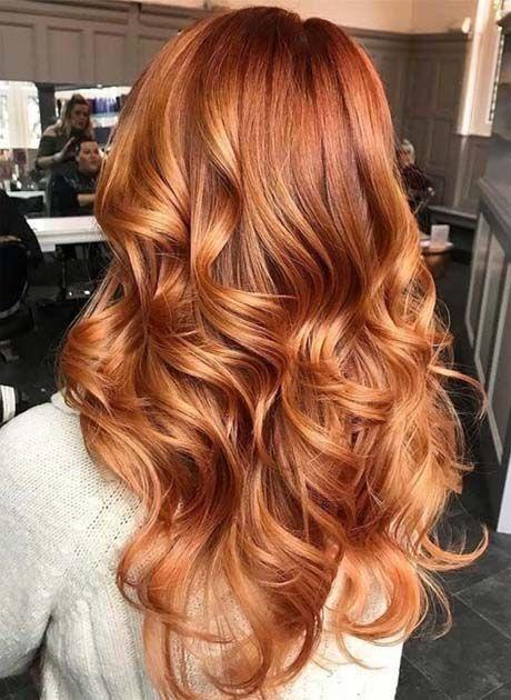 Ginger Hair Colors For Long Hair 2018 2019 Ginger Hair