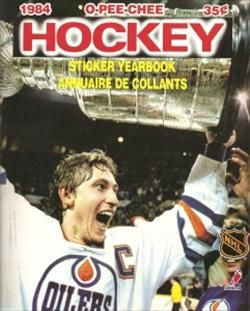 1984-1985 O-Pee-Chee Hockey Sticker Album