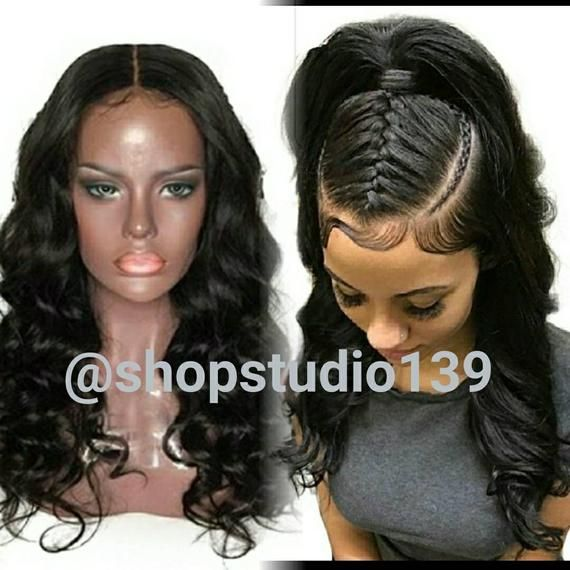 Human Hair Body Wave Lace Front Wig This Unit Can Be Dyed Any Color You Can Wear It In Many Sty Front Lace Wigs Human Hair Wig Hairstyles Curly Lace Front
