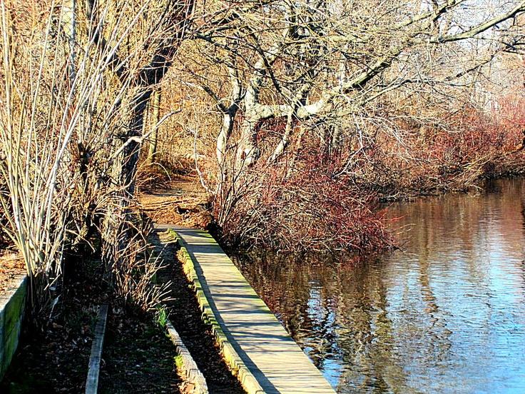 Fishing pier at twin lakes wantagh new york january 28 for Jones beach fishing pier