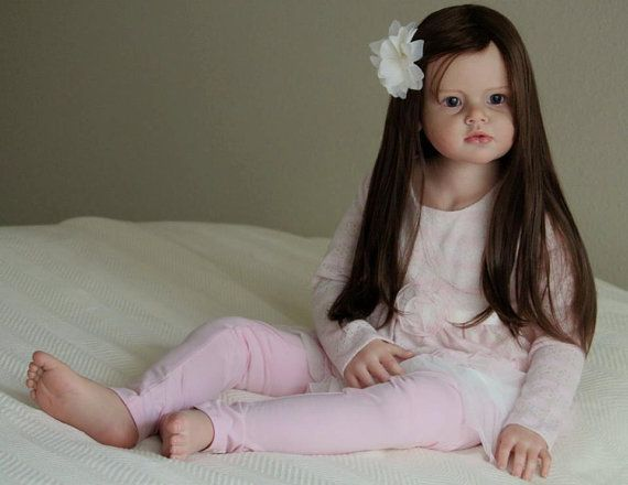 CUSTOM* Reborn Toddler Child Size Doll, Angelica by Reva Schick, Choose Hair/Eye Color!