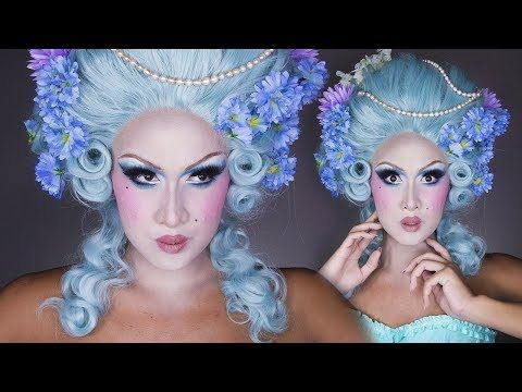 Pastel Marie Antoinette Wig Styling Tutorial! - YouTube