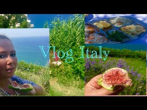VLOG ITALY/ TRAVEL/ RELAX/NATURE/ИТАЛИЯ/МОРЕ/ПАРФЮМ ИНЖИРА/ОБЕД/РЕЛАКС/П...