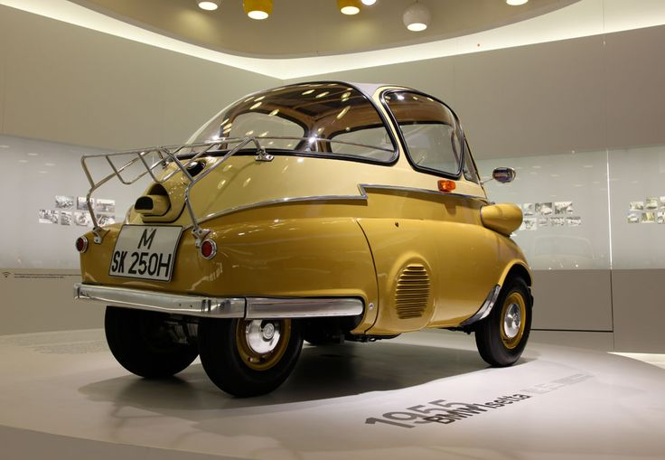 BMW Isetta, bubble car, egg car