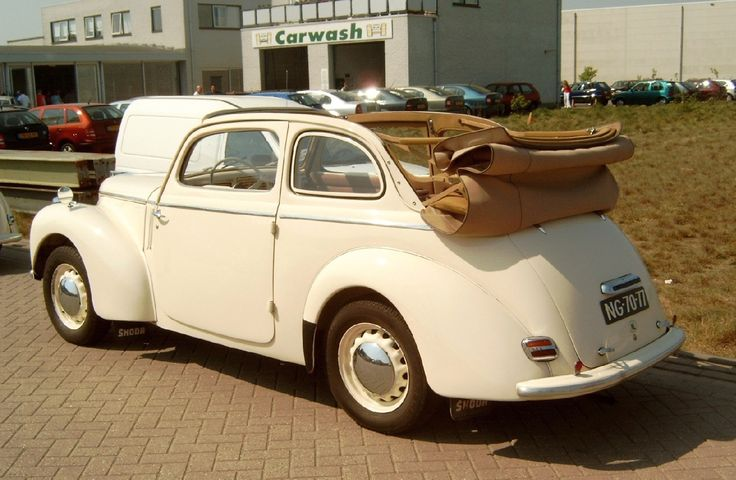1951 Skoda Tudor 1102 cabrio coupé