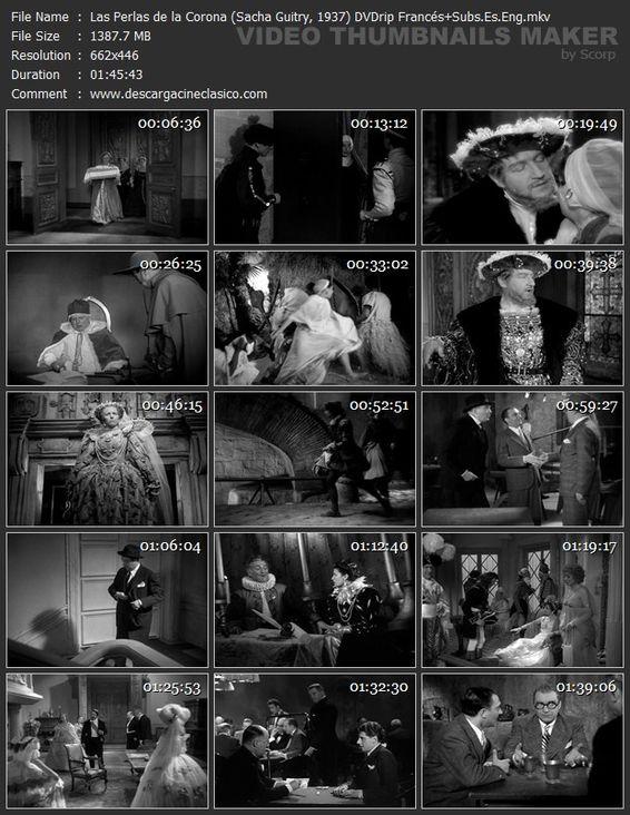 Les perles de la couronne - 1937: