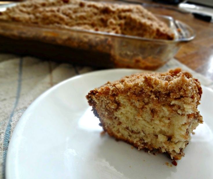 The Cooking Actress: Cinnamon Streusel Coffee Cake + CHOBANI Review & Sweepstakes!