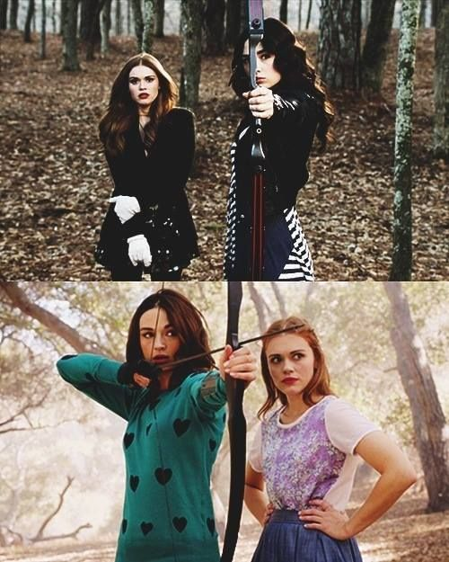 Allison Argent: Bad Ass Hunter Lydia Martin: Banshee with the Brains