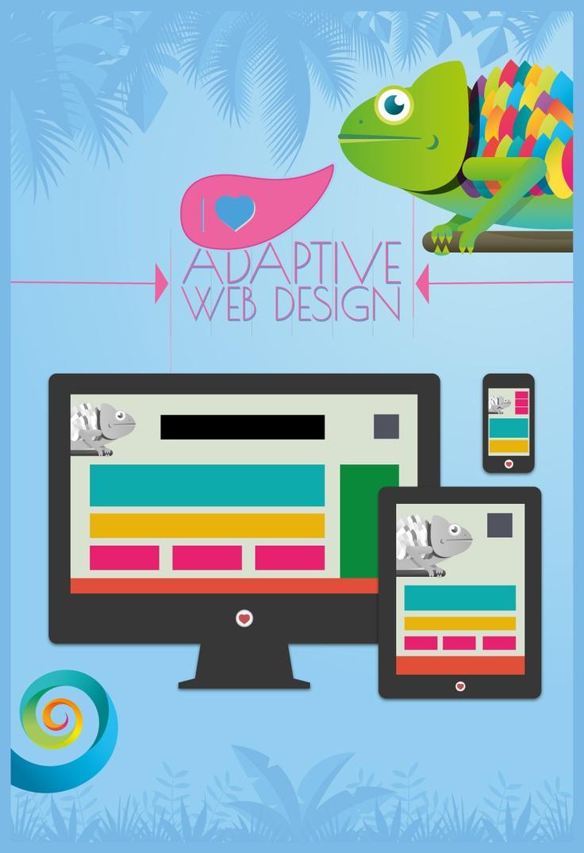 Poster celebrating Adaptive Web Design