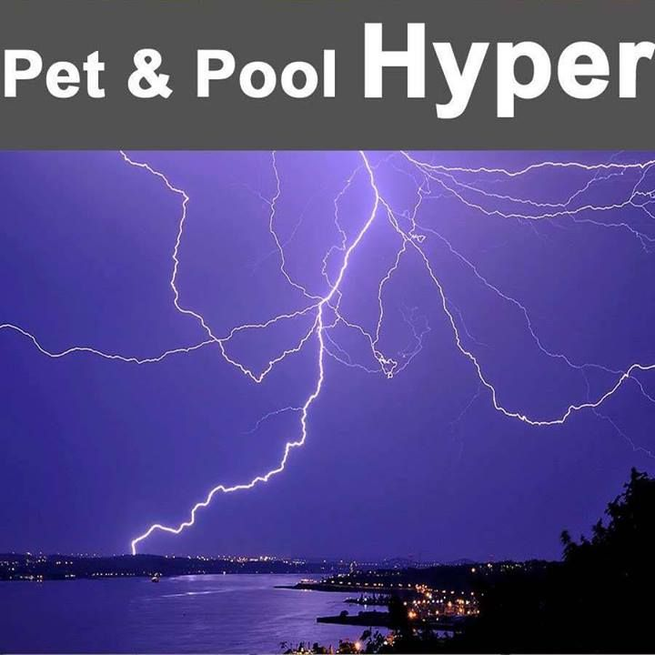 Pet & Pool Hyper Witbank Pool safety tip: Watch out for lightning. Lightning sometimes beats rain. Even if it isn't raining yet, lightning in the distance should be a reason to run for cover away from water. An approaching storm is a sign to get out of the pool. #swimmingpool #summertips